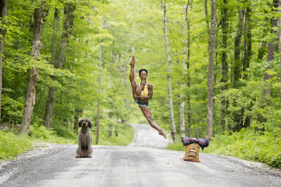 Jordan Matter, 'Waiting for a Ride | Michaela DePrince', 2013