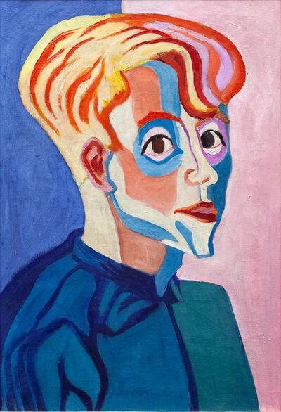 Paul Camenisch, 'Bildnis Max Haufler', 1927