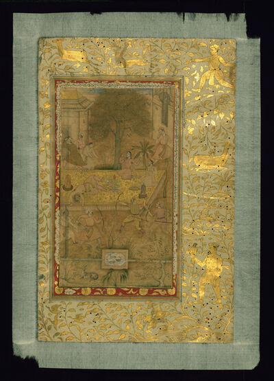 Abu al-Fazl ibn Mubarak, 'Single Leaf from Akbarnama by Abu Fazl', 16th Century