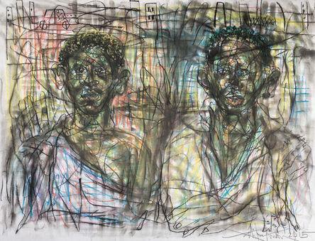 Salifou Lindou, 'Tariq and Rayan', 2015