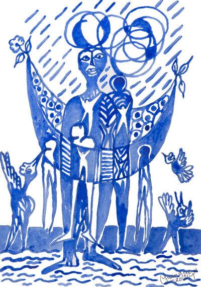 Hervé Yamguen, 'L'oiseau #6', 2020