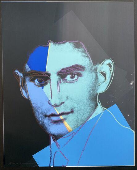 Andy Warhol, 'Franz Kafka (Unique TP)', 1980