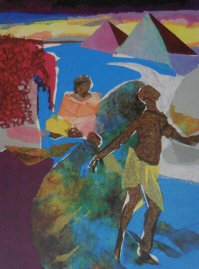 """Phoebe Beasley, '""""The Negro Speaks of Rivers""""', 1998"""