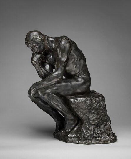 Auguste Rodin, 'The Thinker', Modeled ca. 1880-cast ca. 1910