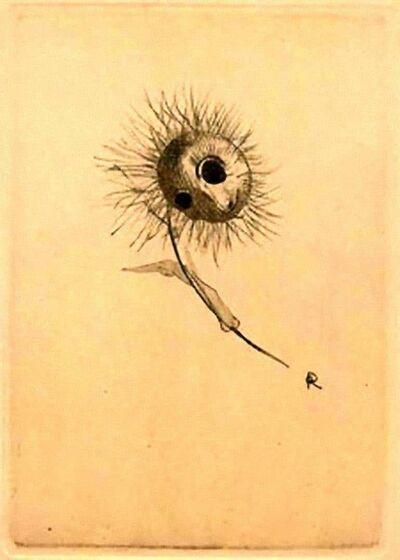 Odilon Redon, 'Les Fleurs du Mal - Illustrated after Odilon Redon', 1923