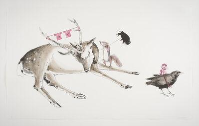 Julie Buffalohead, 'Squirrel Mumbles', 2014