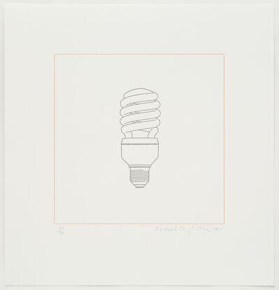 Michael Craig-Martin, 'Light bulb', 2015