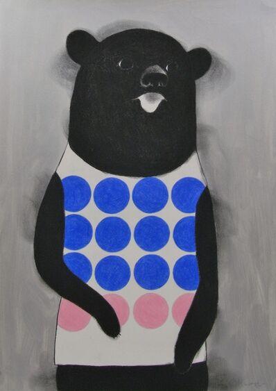 Katsunori Miyagi, 'Dots Bear', 2016