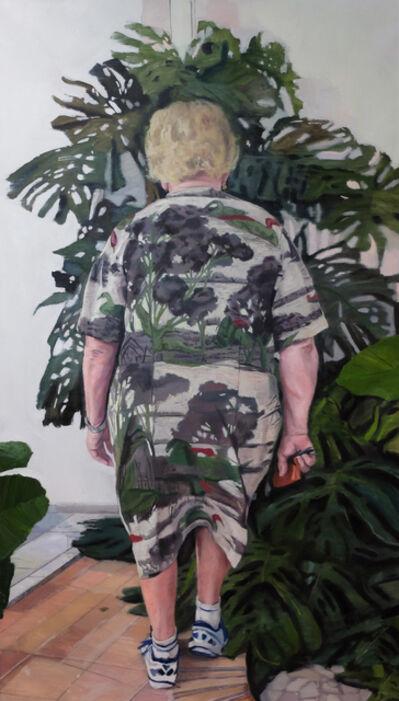 Virginia Bersabe, 'Este verde poema, hoja por hoja', 2017