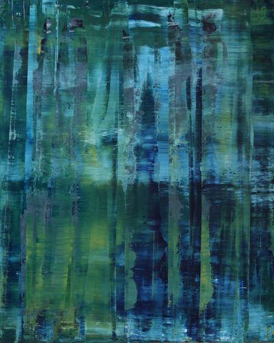 Koen Lybaert, 'abstract N° 789 [Chingley Wood - Bewl Water]'
