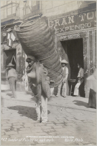 CHARLES BETTS WAITE, 'Vender of Petates or Rush Mats, Mexico', 1905