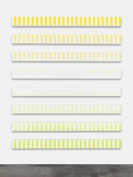 Claudia Comte, 'Fluide Glacial, Stripes B (Cocktail paintings)', 2014