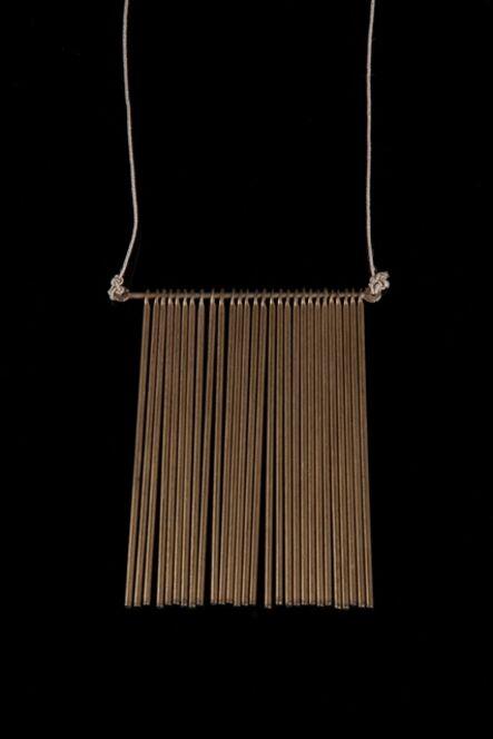 Harry Bertoia, 'Unique fringe pendant with 28 rods', ca. 1970s