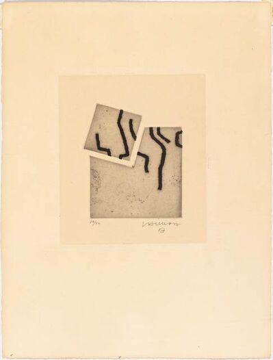 Eduardo Chillida, 'Levitation II', 1966