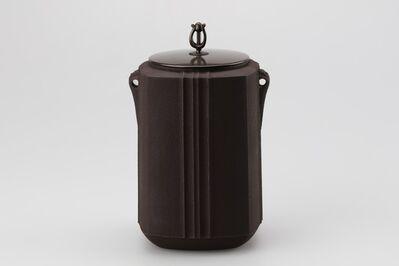 Hata Shunsai, 'Tea Kettle with Square Design', 2016