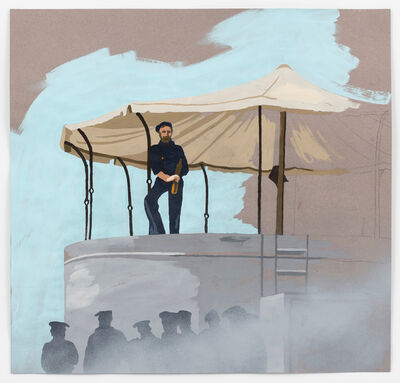 """Matthew Benedict, 'The Lookout (Study for """"The Sea Cook"""")', 2017"""