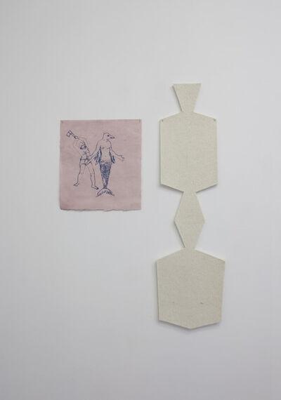 Ana Mazzei, 'Mulher peixe e peixe', 2014