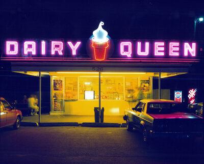 Jim Dow, 'Dairy Queen, Iowa City, Iowa', 1988