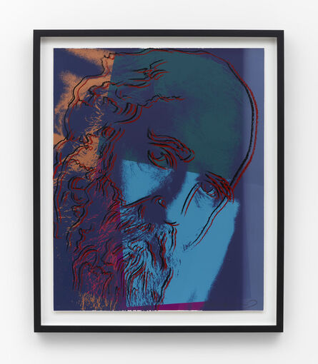 Andy Warhol, 'Martin Buber (F&S 228)', 1980