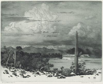 George Elbert Burr, 'Verde River, Arizona (Verde River, Apache Reservation, Arizona)', in or after 1920
