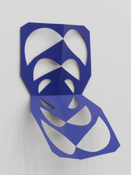 Matt Keegan, 'Cutout (Ultramarine Blue)', 2019