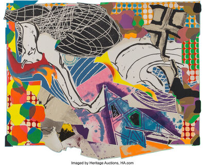 Frank Stella, 'Extracts, from Moby Dick Series', 1993