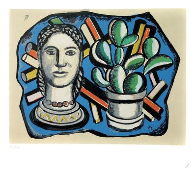 Fernand Léger, 'Tête et Cactus ', 1954/1955