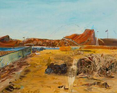 Chaegang Jeon, 'Yellow Landscape', 2013