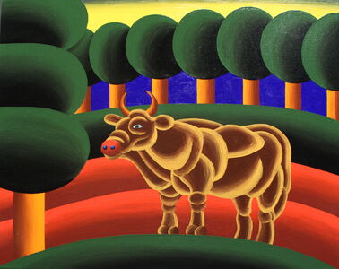 Oleg Khvostov, 'The Golden Calf', 2017