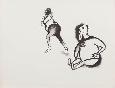 Sue Williams, 'Feelings of satisfaction', 1990
