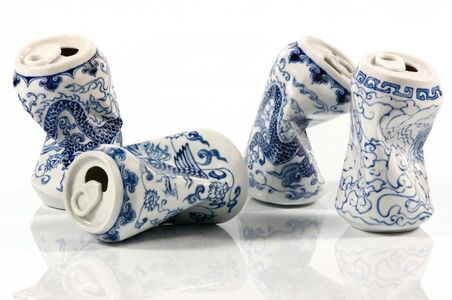 Lei Xue, 'Drinking Tea', 2010