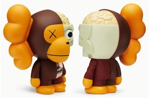 KAWS, 'Milo ( Brown) ', 2011