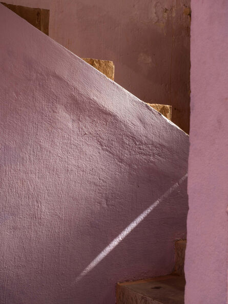 Neil Meyerhoff, 'Pink Stairway at Restaurant', 2014