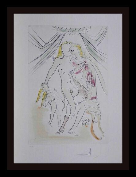Salvador Dalí, 'Hommage a Albrecht Durer Venus Mars Cupidon', 1971
