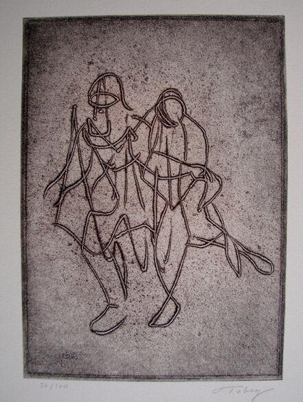 Mark Tobey, 'Companionship', 1974