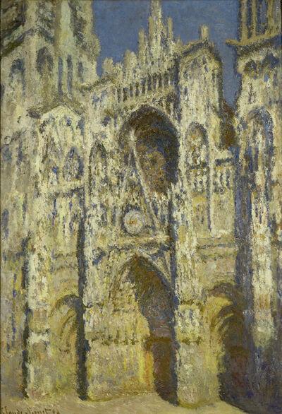 Claude Monet, 'La Cathédrale de Rouen: plein soleil, harmonie bleue et or (Rouen Cathedral, Full Sun, Blue Harmony and Gold)', 1894