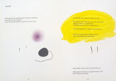 Joan Miró, 'Derriere le Miroir, no. 193-194, pg 24,25', 1971