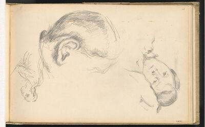 Paul Cézanne, 'Three Heads, One of Madame Cézanne', 1882/1885
