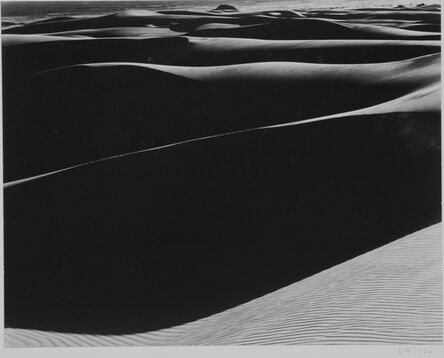Edward Weston, 'Dunes, Oceano S-37', 1936