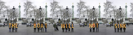Sue Williamson, 'Fluctuat Nec Mergitur: The Boat Will Not Sink, Paris, France', 2016