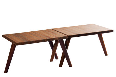 Ignez Ferraz, 'Small table-benches JO & QUIM', 2014