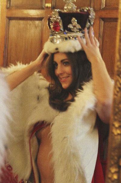 Alison Jackson, 'Kate tries on the crown', 2011