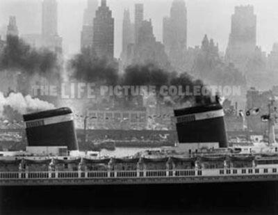 Andreas Feininger, 'S.S. United States', 1952