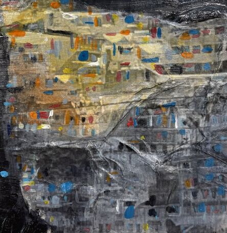 Kate Fauvell, 'Pandemic Dreams of Travel- The Hills of Porto', 2021