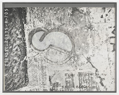 Robert Smithson, 'Lake Crescents', 1973