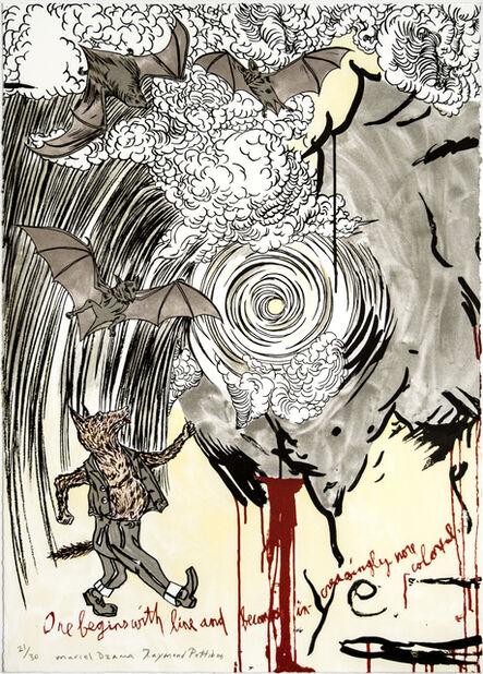 Marcel Dzama and Raymond Pettibon, 'Untitled', 2021