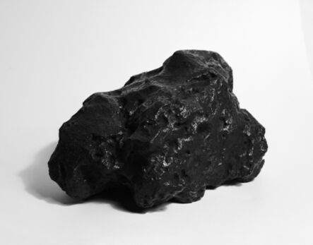"""Aleix Plademunt, '""""Metallic meteorite which fell to Earth in Argentina between 4,000 and 6,000 years ago"""" from the series """"Almost There""""', 2013"""