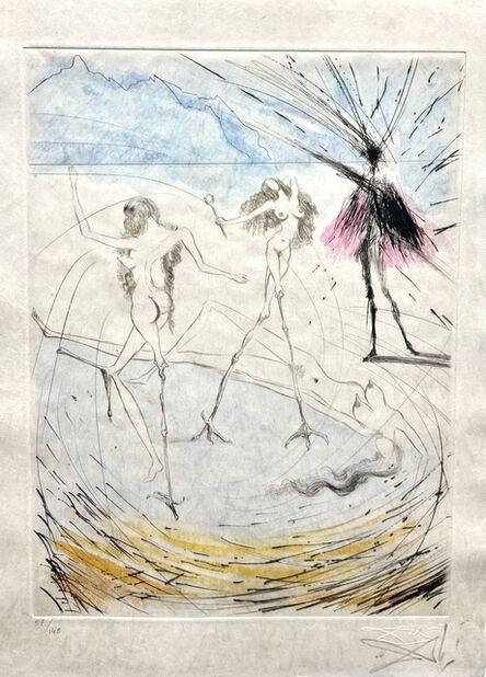 "Salvador Dalí, 'Faust ""Hen Woman""', 1968"