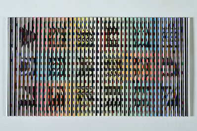 Yaacov Agam, 'Once Upon A Time', 1973