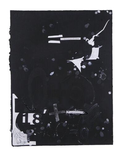 Suzanne McClelland, 'In the Black #4', 2015